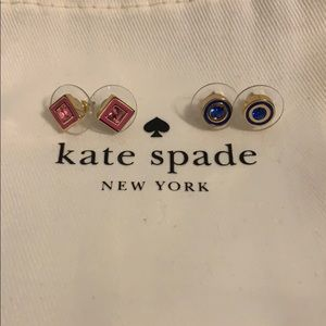 NEVER WORN Kate Spade Earring duo